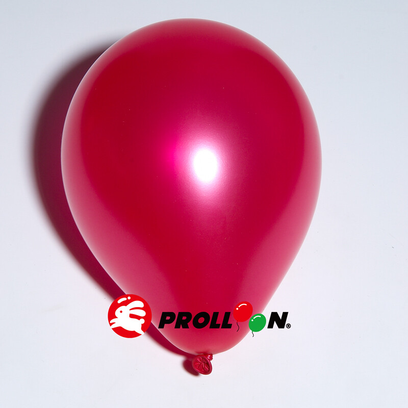 大倫氣球11吋珍珠色 圓形氣球 100顆裝 玫瑰紅 台灣製造 安全無毒