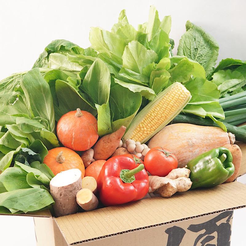 重量級有機水耕蔬菜箱(1~1.25kg/箱)