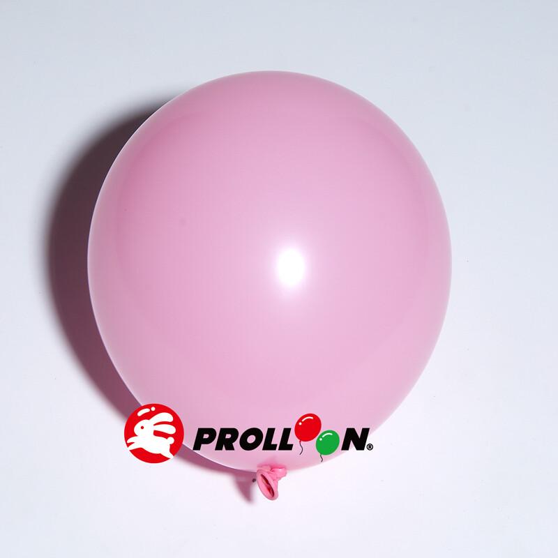 大倫氣球11吋糖果色 圓形氣球 100顆裝 粉紅色  台灣製造 安全無毒