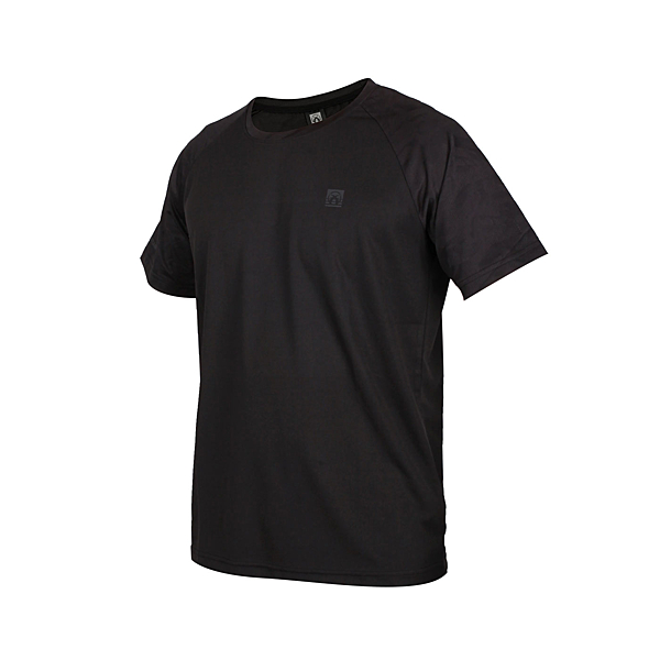 FIRESTAR 男吸濕排汗剪接圓領短袖T恤(慢跑 路跑 運動上衣 免運 ≡排汗專家≡