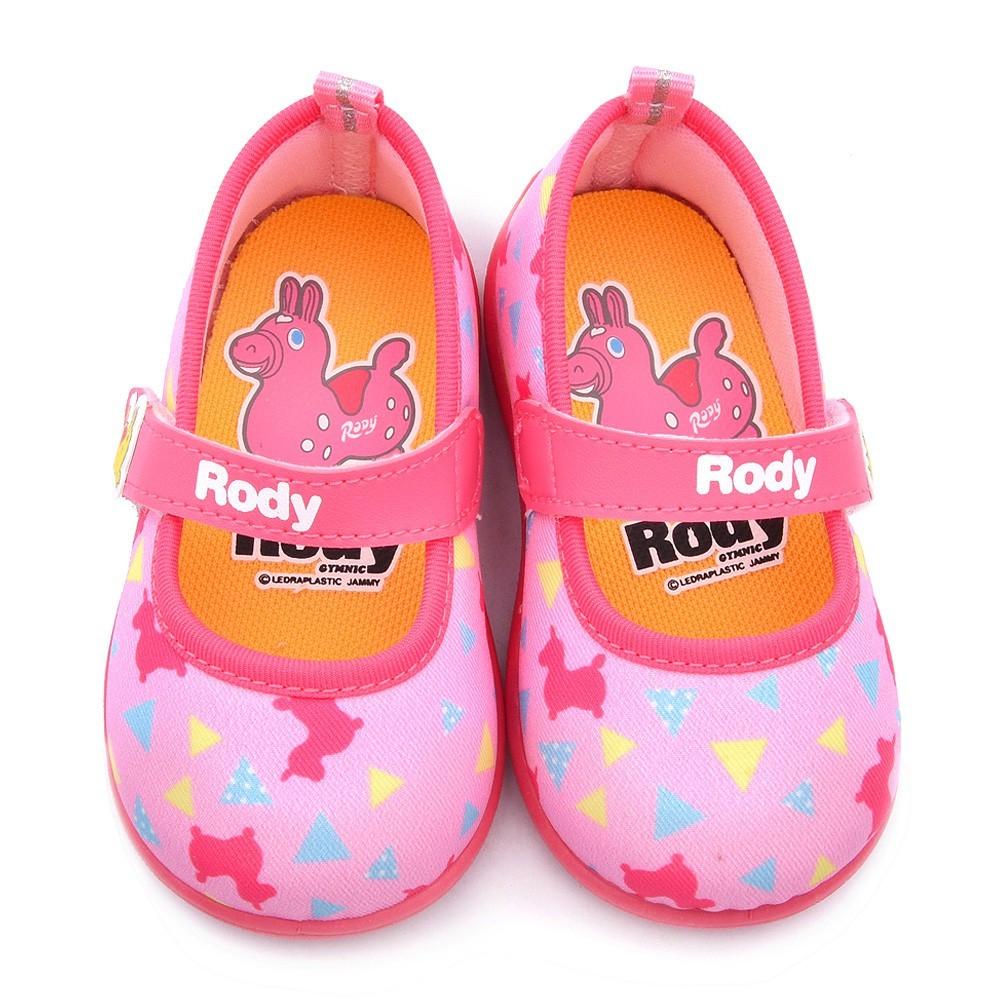 鞋子部落 跳跳馬甜美繽紛寶寶鞋 小童 rd7420 粉