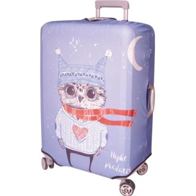 新一代 貓頭鷹 行李箱保護套(29-32吋行李箱適用)