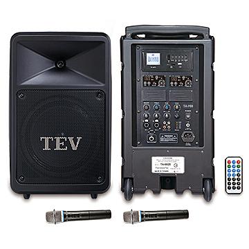 台灣精品 TEV TA6820U-2 藍芽/USB/SD雙頻無線擴音機*廣播教學 戶外活動