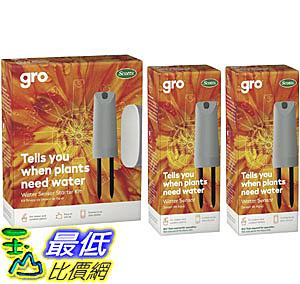 [9美國直購] 智能定時澆水器 GRO Water Sensor Starter Kit, (Includes Hub and Three Sensors) B079B6CGZB