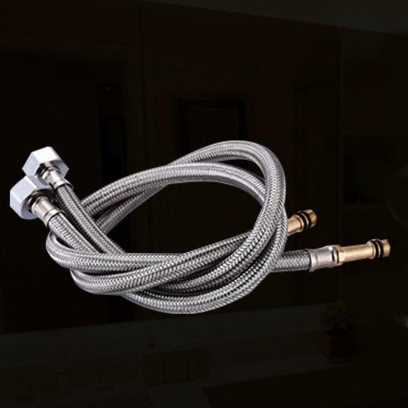 ai258龍頭進水管 60cm 不銹鋼尖頭軟管 編織軟管 軟管