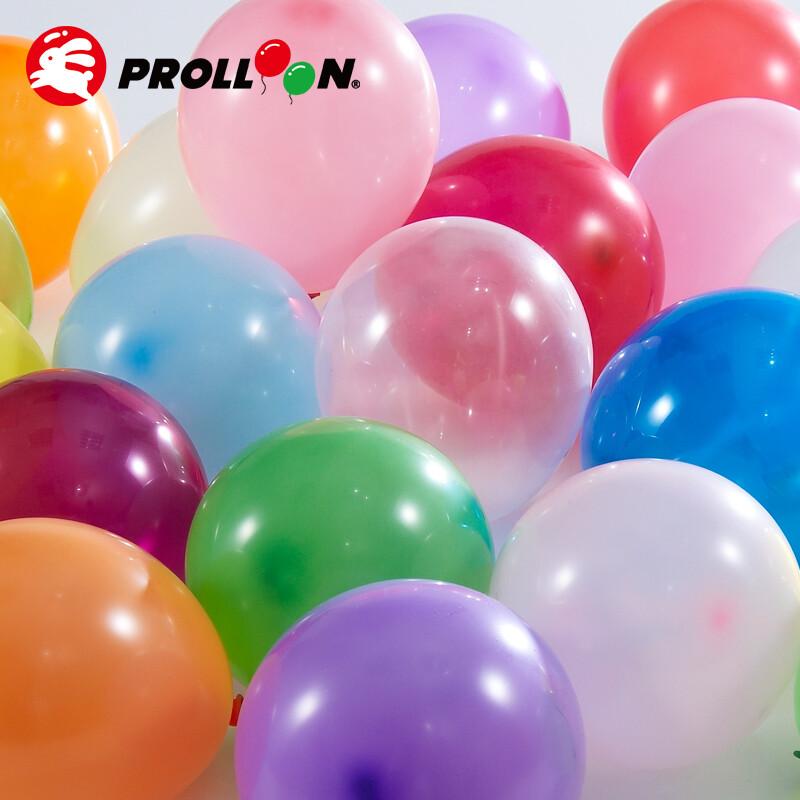 大倫氣球11吋糖果色 圓形氣球 100顆裝 隨機混色 台灣製造 安全無毒
