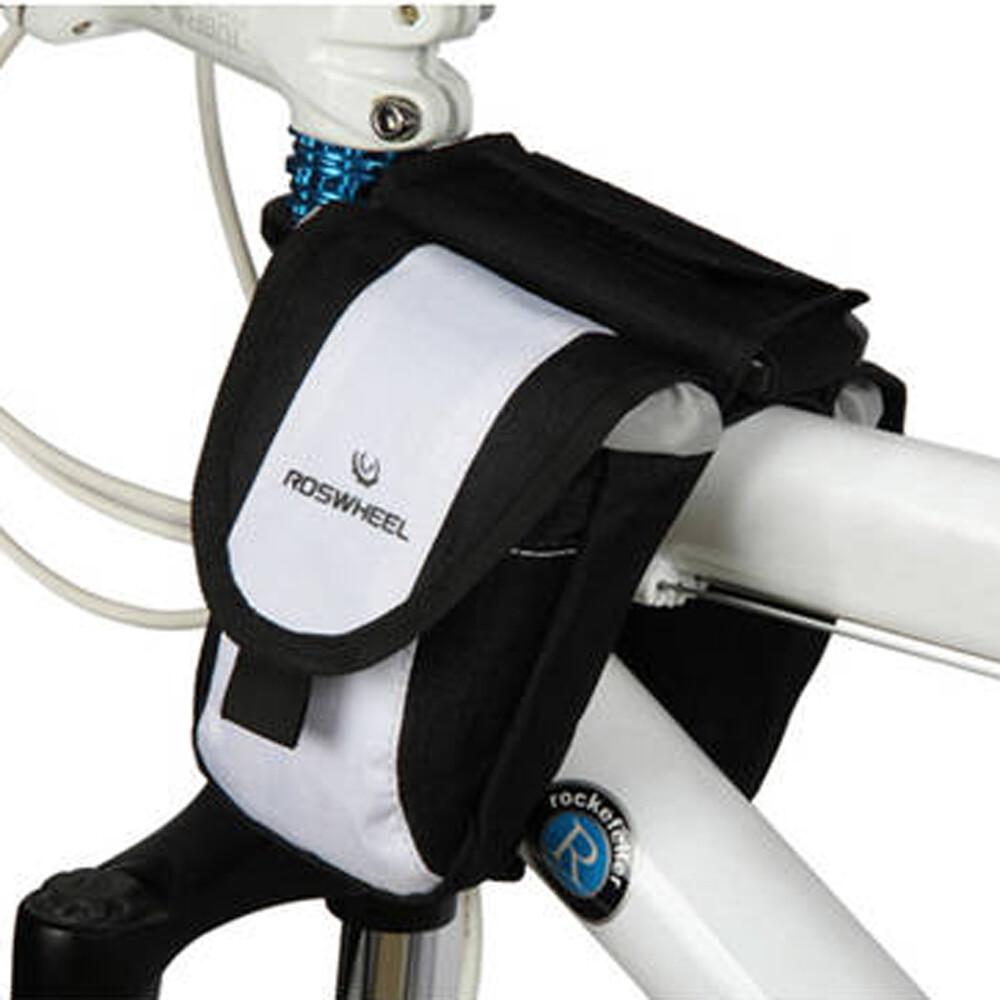 e.city_時尚自行車用上管馬鞍雙袋包