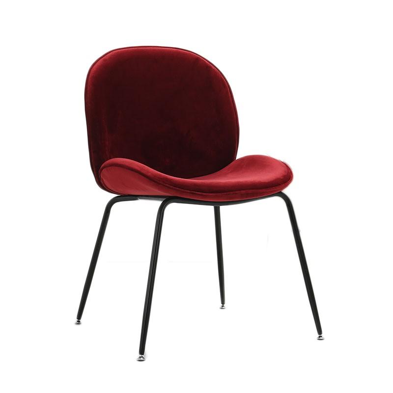 北歐ins椅子網紅化妝椅貝殼椅梳妝椅餐椅家用餐廳簡易凳子靠背椅