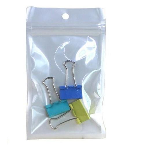 dv271fpp白色珠光膜拉鏈袋-7號 10入 夾鏈袋 珠光袋 珠光膜包裝袋 飾品自封袋 商品包