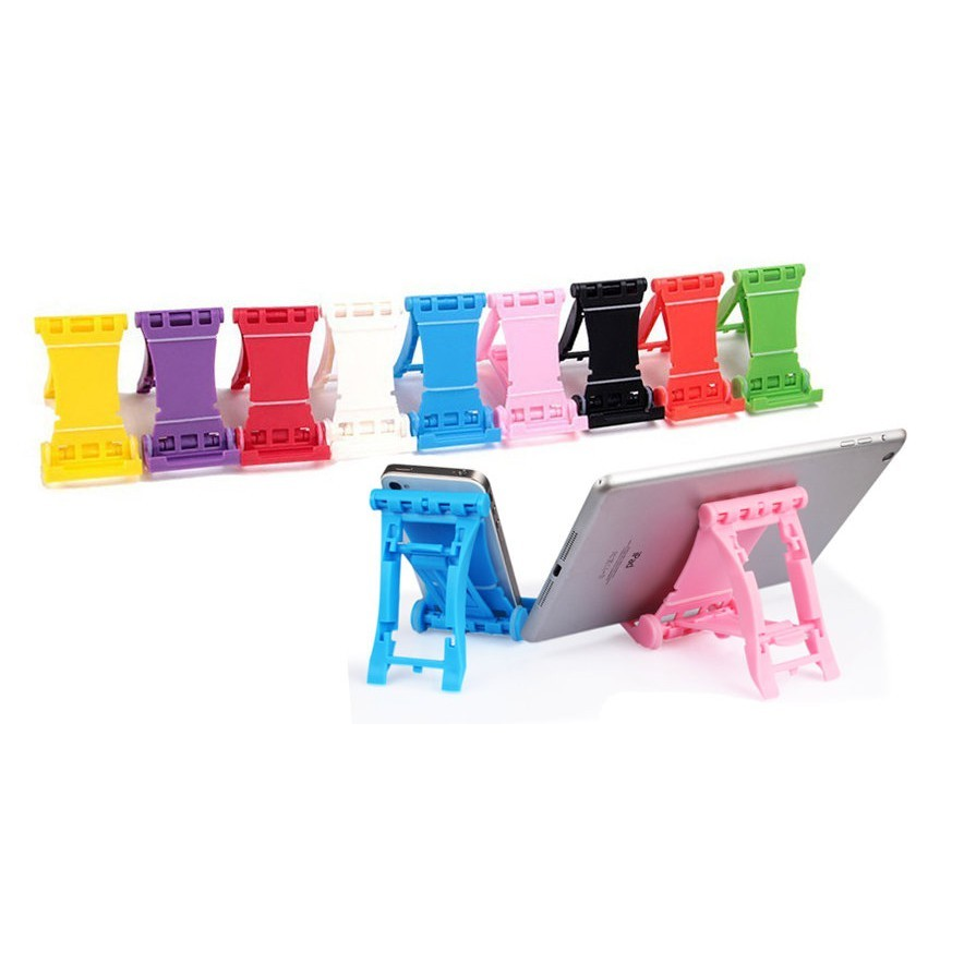 繽紛多彩 折疊式 防滑 手機萬用支撐架/摺疊手機架/手機座/摺疊架/平板支架座/固定架/手機座/觀賞