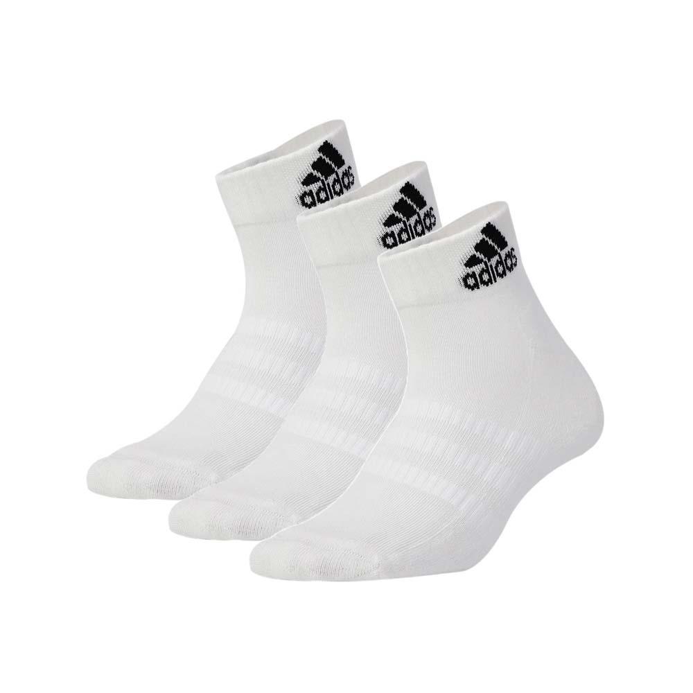 ADIDAS 男女運動短襪-三入 襪子 愛迪達 白黑