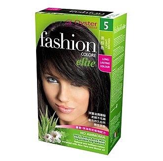 (2件8折) [Oyster歐絲特] 植物性染髮劑--5號(亮棕色)