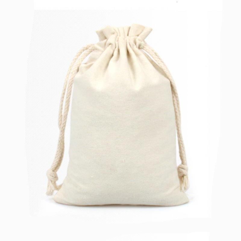 de391麻布袋15x20cm 棉布束口袋 拉繩袋 收納袋 咖啡豆袋 禮品袋 米袋