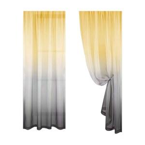 【三房兩廳】工業風格雙色夢幻透光打孔窗紗一片式 150x170cm藍紫150x170