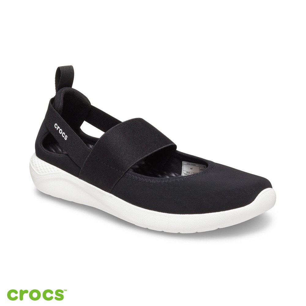 Crocs卡駱馳 (女鞋) LiteRide瑪麗珍便鞋-206082-066