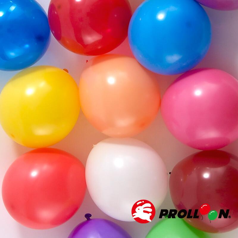 大倫氣球5吋糖果色 圓形氣球 100顆裝  隨機混色 台灣製造 安全無毒