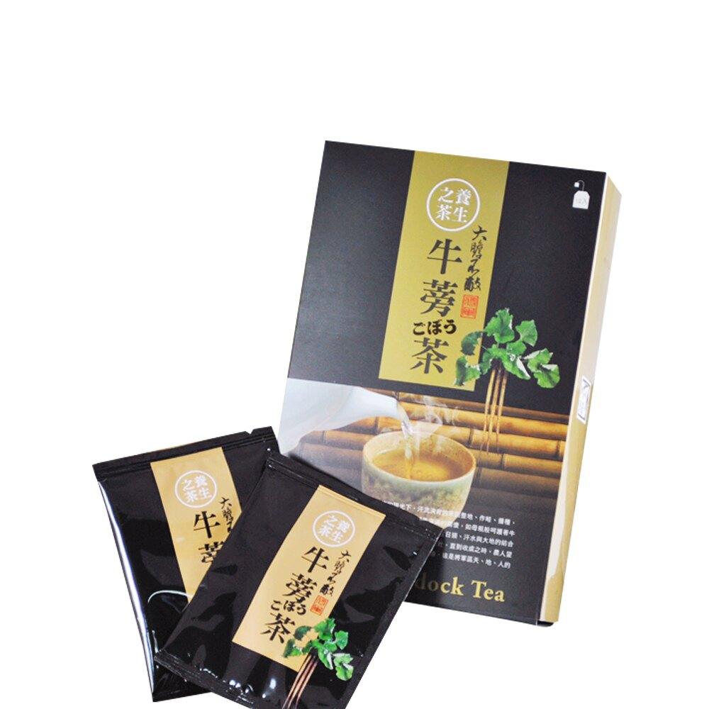 【將軍農會】牛蒡茶包禮盒-7g-12入-盒-(1盒組)