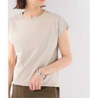 JOURNAL STANDARD 【NEU】60/2ガスコットンクルーネックフレンチTシャツ ベージュ フリー