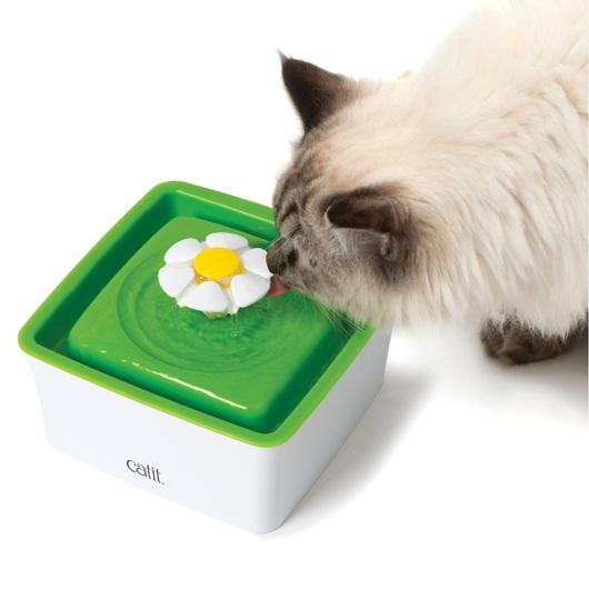 ★國際貓家★CATIT2.0-花朵自動噴泉 飲水器 3L/1.5L{贈濾心一組} (超取限購一組)