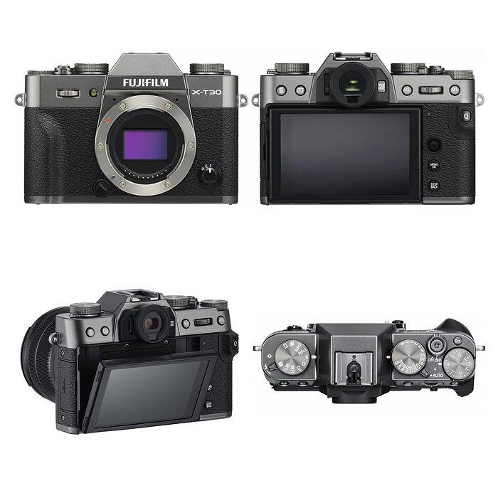 Fujifilm X-T30 Body 單機身 公司貨 樂福數位 (銀/黑/炭晶銀)