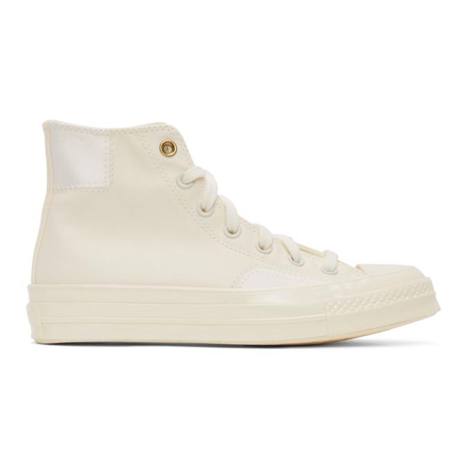 Converse 灰白色 Clean N Preme Chuck 70 高帮运动鞋