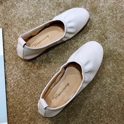 KEITH-WILL時尚鞋館 時尚穿搭機能日系清甜娃娃鞋-白