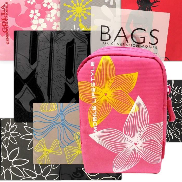 多彩塗鴉時尚扣環包 多層收納 萬用多用途包 3c收納 防潑水 腰包 手機包 零錢包 手機袋 老人機