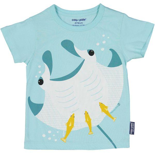 法國 COQENPATE 短袖T 魟魚 (2-6Y)