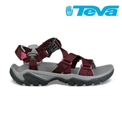 TEVA Terra Fi 5 Sport 女 經典水陸健行涼鞋 深紅 TV1102457PORT