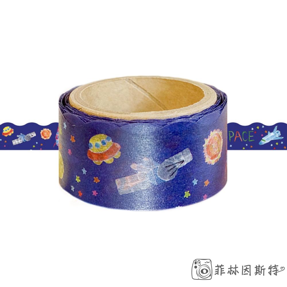 ROUND TOP 【 太空 紙膠帶 】日本進口 masking DIY 裝飾膠帶 RT-MKM-003 菲林因斯特