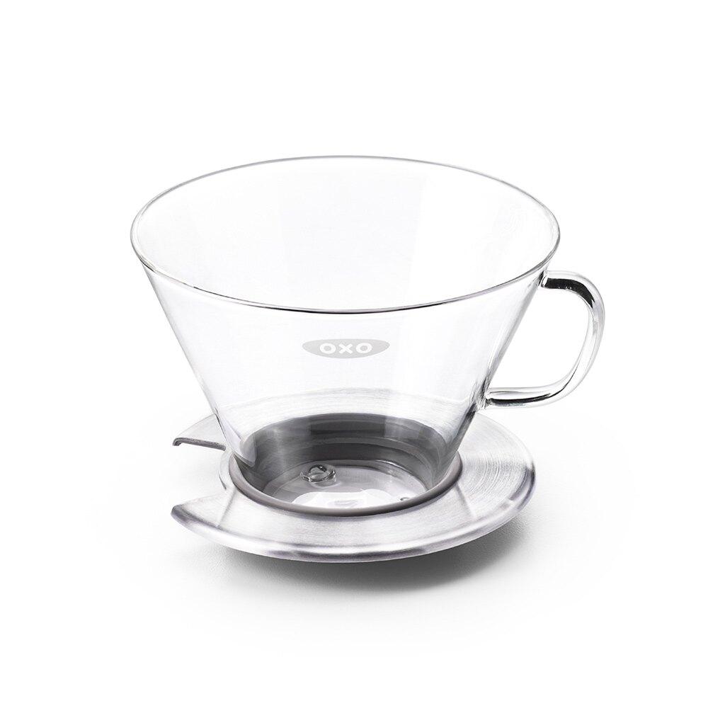 廚房用具/濾杯/咖啡沖泡 OXO 玻璃手沖上壺 完美主義 母親節推薦  【DY152】