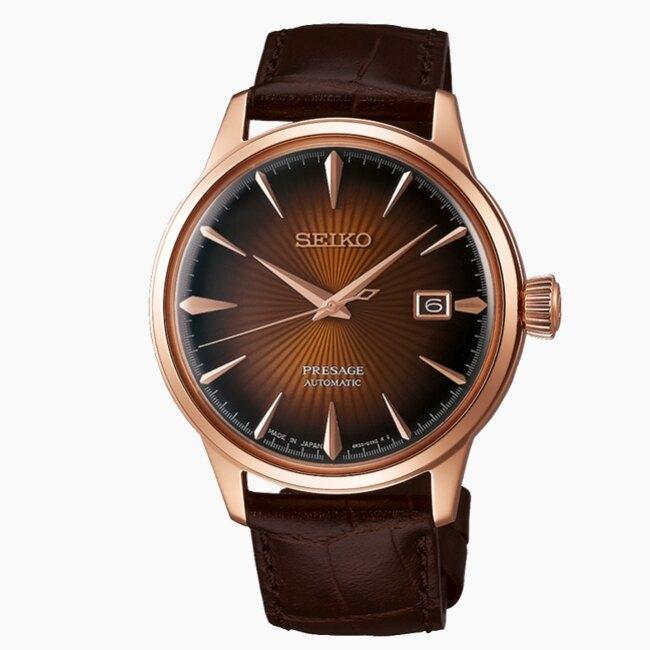 SEIKO  紳士品味機械腕錶SRPB46J1