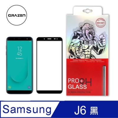 【格森GRAZEN】Samsung J6 / J8 系列 滿版 鋼化玻璃