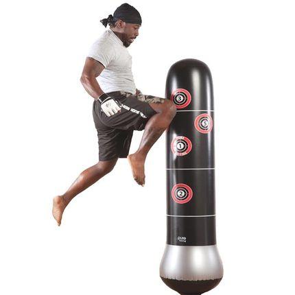 拳擊沙袋 充氣家用散打拳擊玩具兒童立式室內小孩沙袋不倒翁跆拳道健身沙包『MY2385』