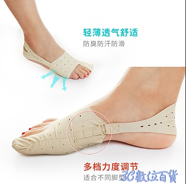 腳趾矯正器大拇指外翻腳指大骨硅膠分離器分趾器女士矯正帶可穿鞋 快速出貨