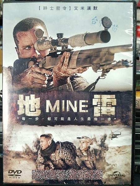 挖寶二手片-Z29-015-正版DVD-電影【地雷】-艾米漢默(直購價)