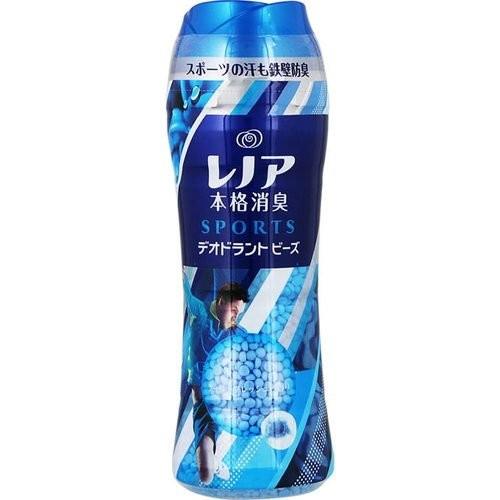 日本 P&G - 本格消臭洗衣芳香顆粒-運動除臭(藍)-520m