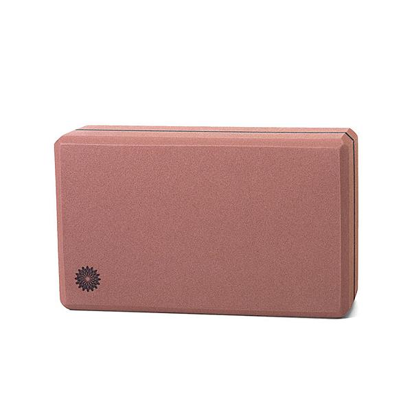 easyoga|瑜珈磚|高優質瑜珈磚(50D) - 咖啡紅 YAE-101 C5