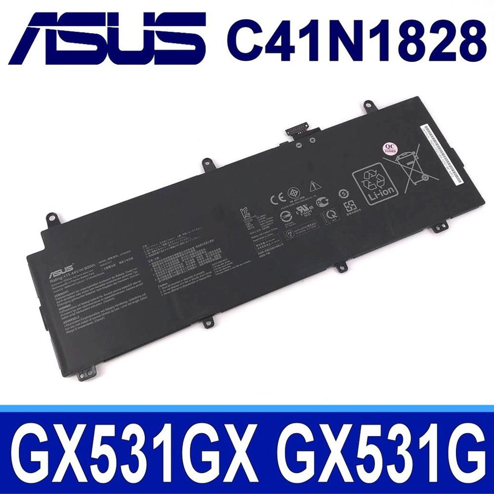 asus c41n1828 4芯 原廠電池 zephyrus s gx531gx gx531gxr