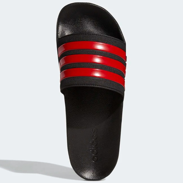 ADIDAS ADILETTE CLOUDFOAM 男鞋 女鞋 拖鞋 防水 海灘 黑 紅EG1884
