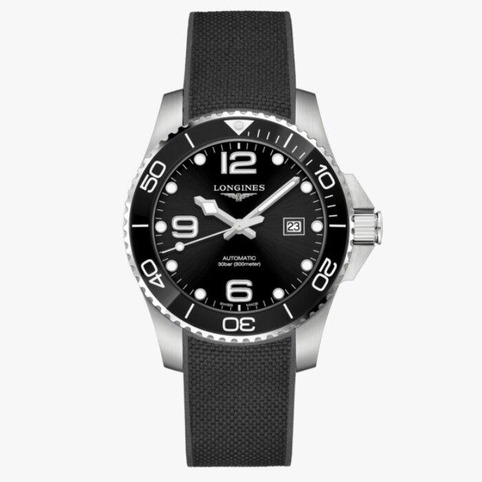 LONGINES 浪琴 L37824569 康卡斯潛水系列陶瓷框機械腕錶 43mm