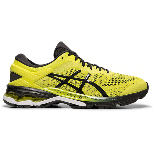 ASICS GEL-KAYANO 26 男鞋 慢跑 黃 1011A541-750
