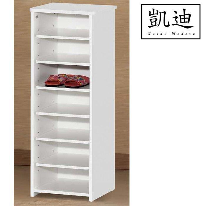 【凱迪家具】Q6 1.1尺烤白鞋櫃/大雙北市區滿五千元免運費/可刷卡-SUPER SALE樂天雙12購物節