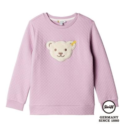 STEIFF德國精品童裝  熊熊長袖T恤上衣 菱格紋
