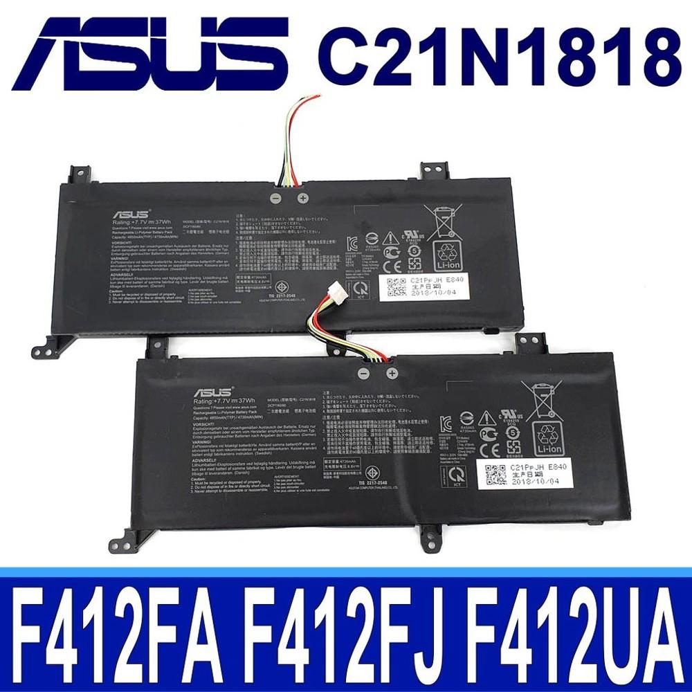 asus c21n1818 原廠電池 x412fa x412ub x412fj x412ua a41