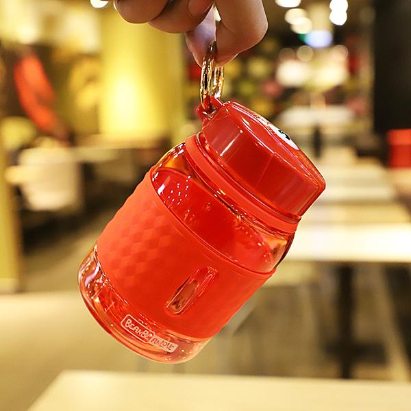 迷你大肚小清新塑料杯便攜學生戶外運動水壺男女泡茶隨手杯子 淇朵市集