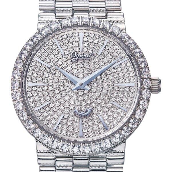Ogival 愛其華 377LW 斐麗珠寶滿天星腕錶 30mm