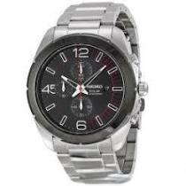 SEIKO 三眼計時太陽能石英手錶SSC215P1