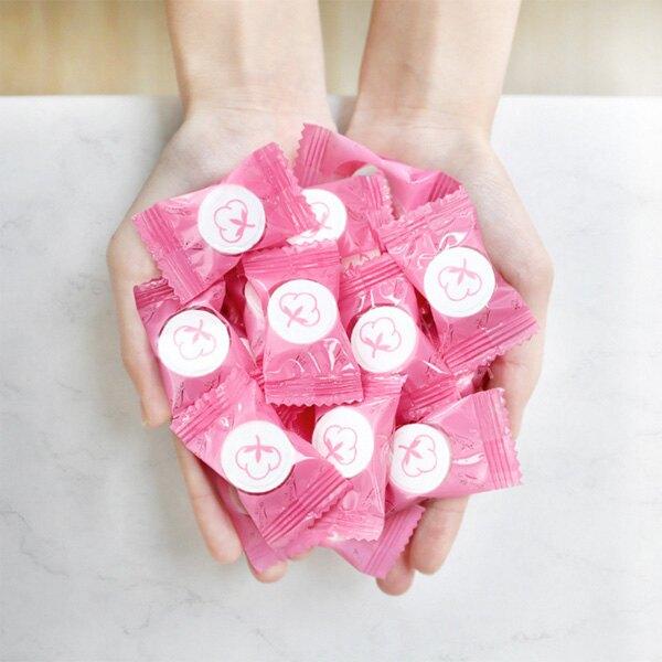硬糖包裝一次性壓縮毛巾 (20*22cm) (28*24cm) 【BlueCat】【RG0817】