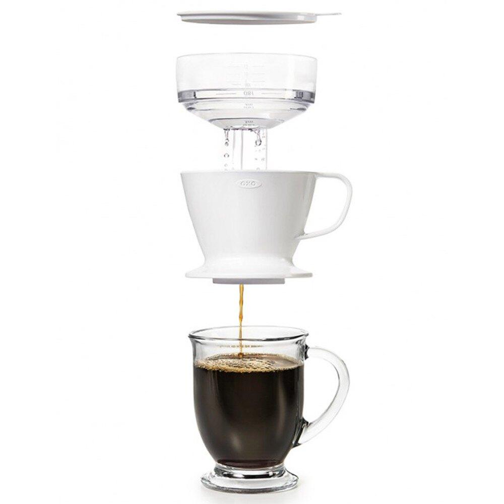 廚房用具/自動手沖/咖啡沖泡 OXO 聰明花灑手沖杯 完美主義 【DY151】